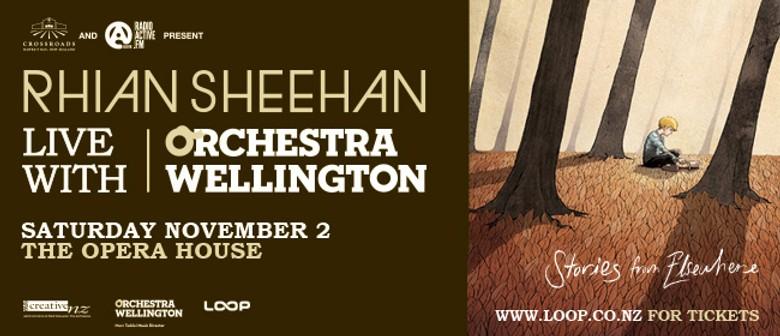 Rhian Sheehan with Orchestra Wellington