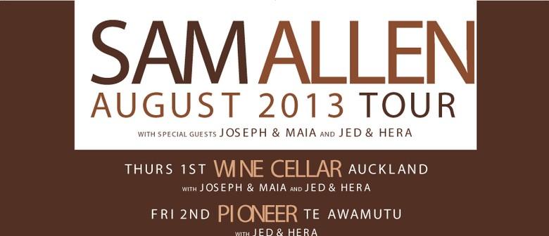 Sam Allen Acoustic Tour with Joseph & Maia: CANCELLED