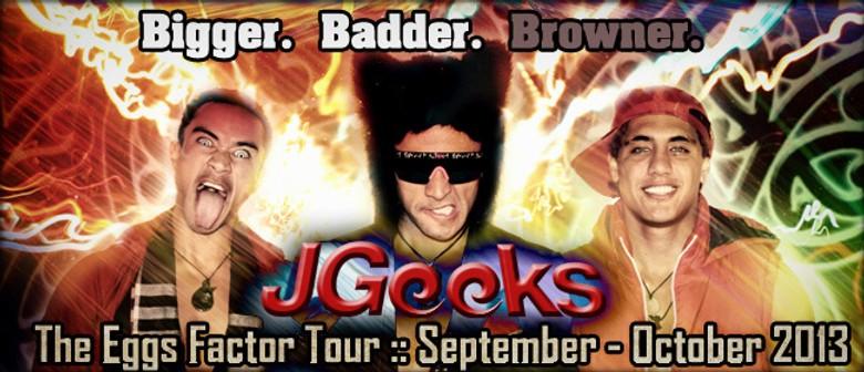 JGeeks Eggs Factor Tour: CANCELLED