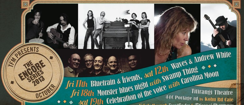 Monster Blues Night featuring Swamp Thing