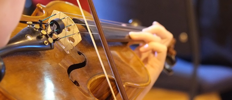 NZSM Galambos-Winter Violins Lunchtime Concert