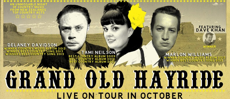 Grand Old Hayride NZ Tour