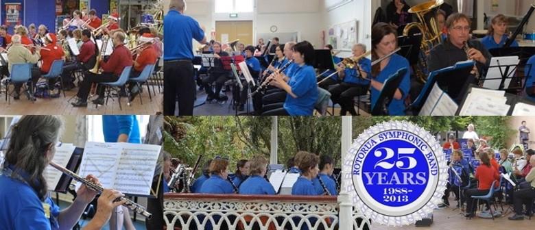 Rotorua Symphonic Band 25th Anniversary - Reunion