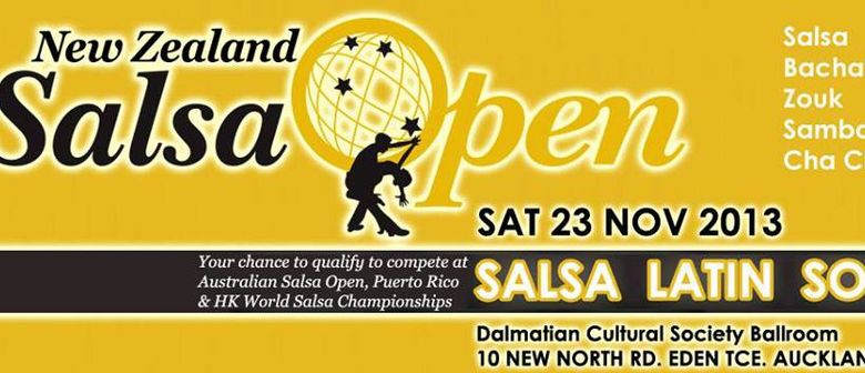 New Zealand Salsa Open Competition
