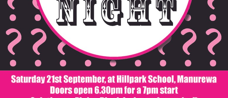 Hillpark Kindergarten Quiz Night