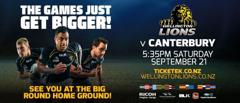 Wellington Lions vs Canterbury