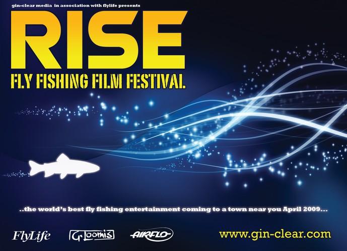 Rise fly fishing film festival 2009 dunedin eventfinda for Fly fishing film festival