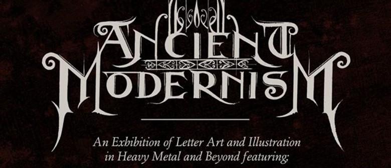 Ancient Modernism – Letter Art, Illustration and Beyond