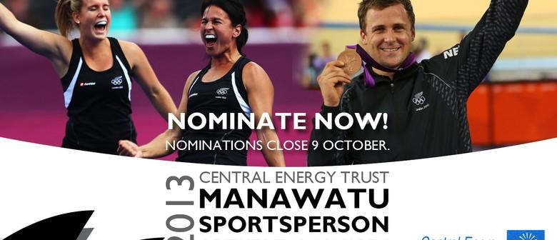 Central Energy Trust Manawatu Sportsperson of the Year 2013