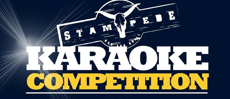 Stampede $1,000 Karaoke Competition