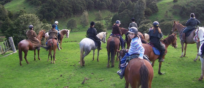 Parent and Child Horse Riding Weekend