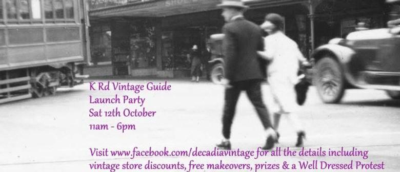 The K Rd Vintage Extravaganza