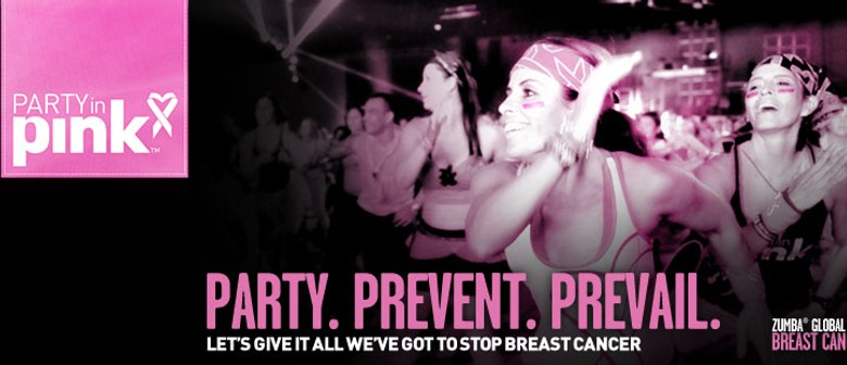 Aqua Zumba Party In Pink Fundraiser