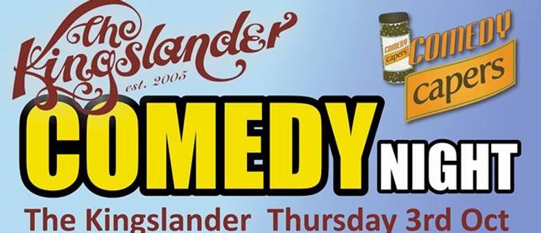 The Kingslander Comedy Night feat. Brendhan Lovegrove