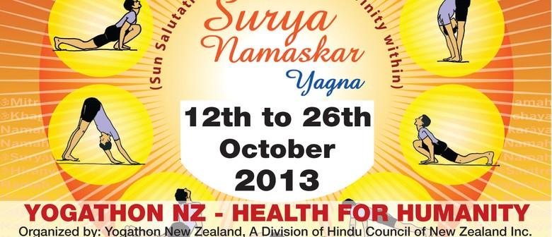 Yogathon NZ Rotorua 2013