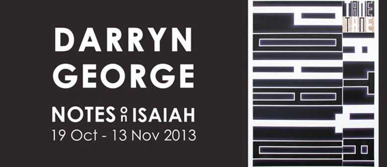 Darryn George - Notes On Isaiah 2013
