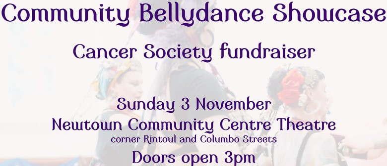 Community Bellydance Showcase: Cancer Society Fundraiser