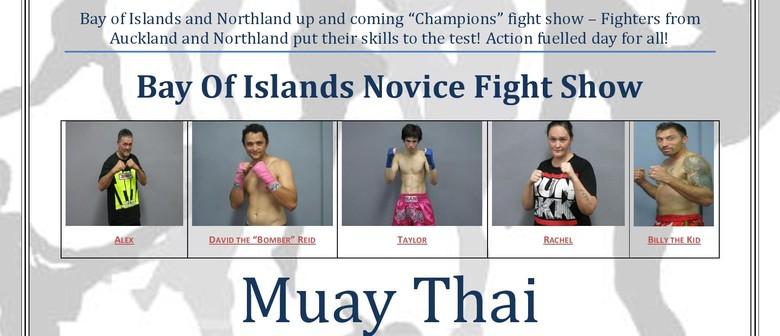 Bay of Islands Novice Kickboxing Show