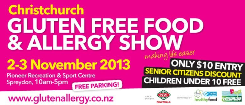 2013 Christchurch Gluten Free Food & Allergy Show