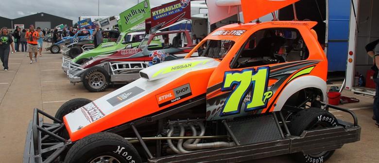Baypark Speedway - Super Stock Teams Race