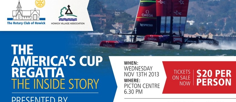 """The Americas Cup - The Inside Story"" featuring Peter Lester"