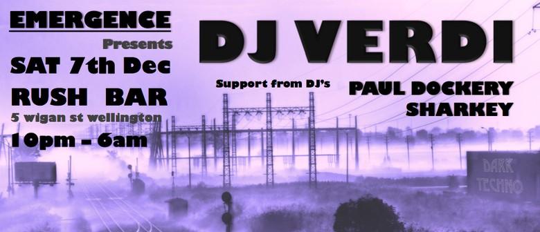 Emergence Opening Party Presents DJ Verdi