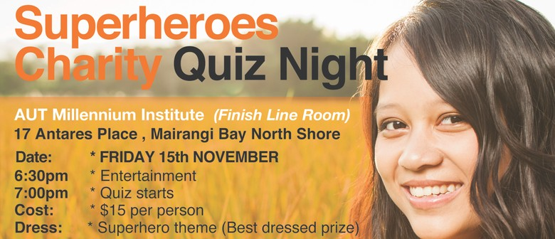Superheroes Charity Quiz Night