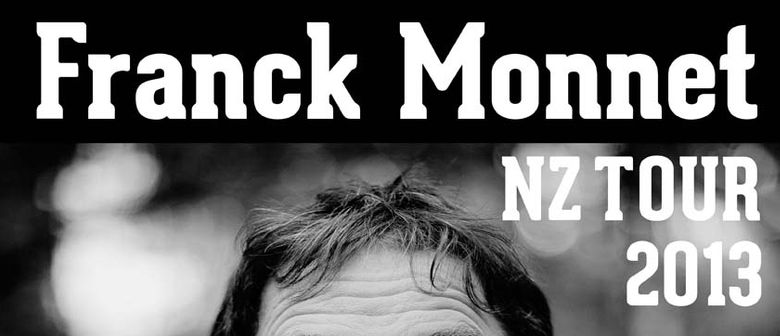 Franck Monnet Concert in Christchurch
