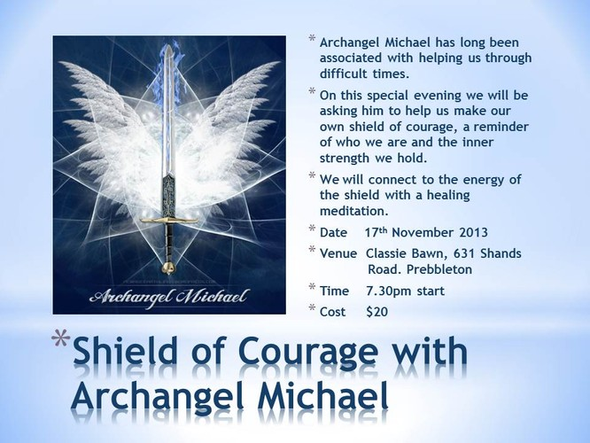 Strength and Courage with Archangel Micheal - Christchurch