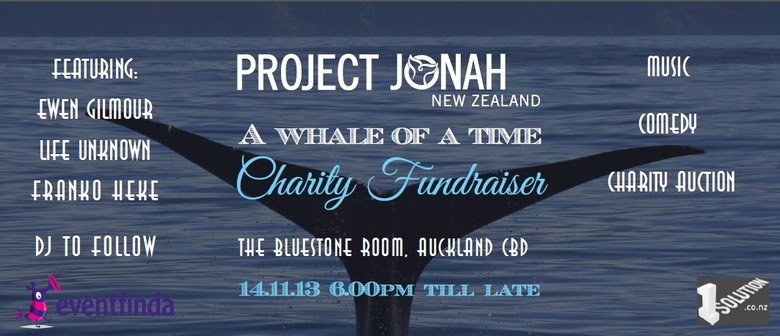 A Whale of a Time: Project Jonah Charity Fundraiser