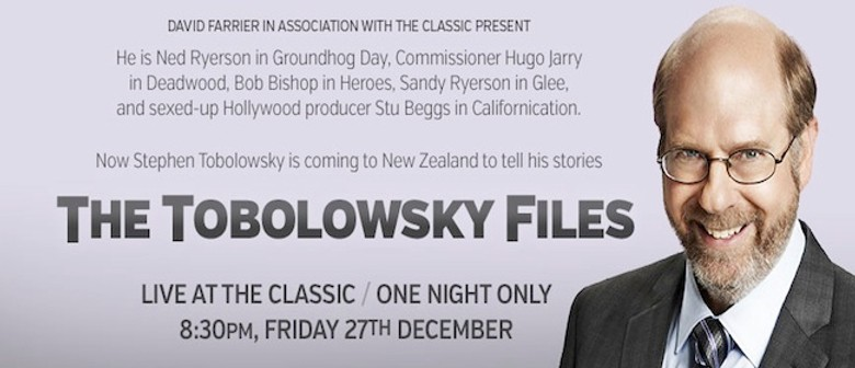 The Tobolowsky Files featuring Stephen Tobolowsky