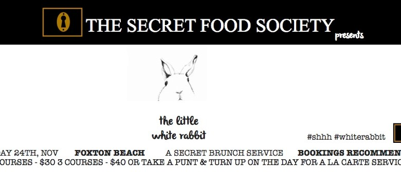 The Secret Food Society Presents The Little White Rabbit