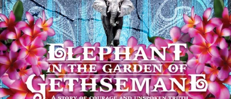 Elephant in the Garden of Gethsemane