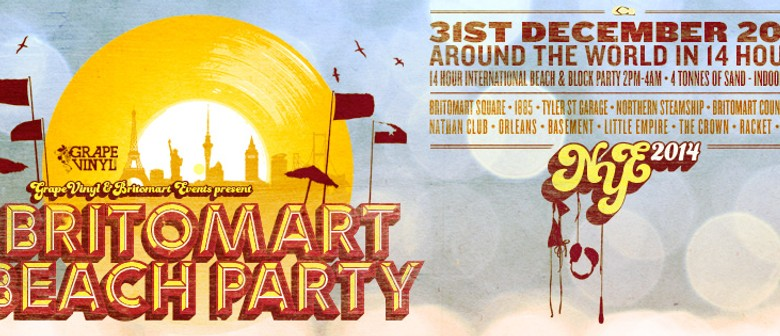 Britomart Beach Party New Years Eve 2013/14