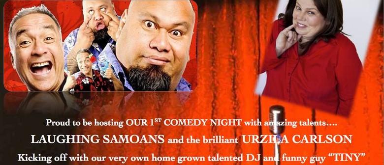 G2 Comedy Night - Laughing Samoans & Urzila Carlson