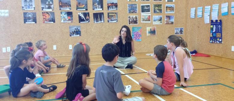 Fun French, Spanish or Mandarin Kids Holiday Program