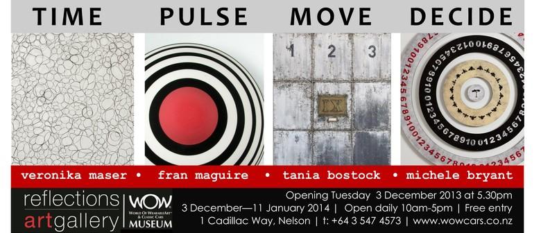 Time, Pulse, Move, Decide Exhibition