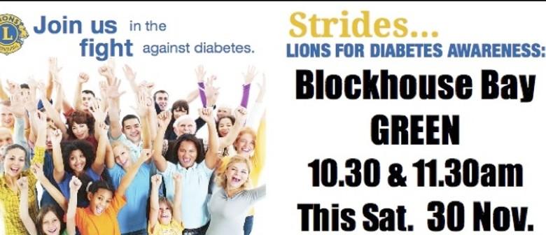 Lions Strides Against Diabetes