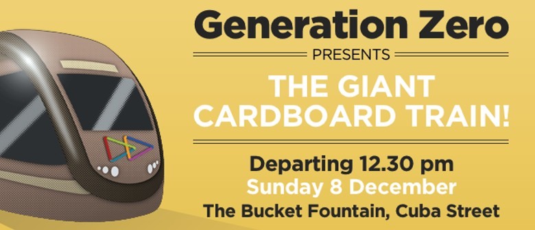 Generation Zero Presents: The Giant Cardboard Train