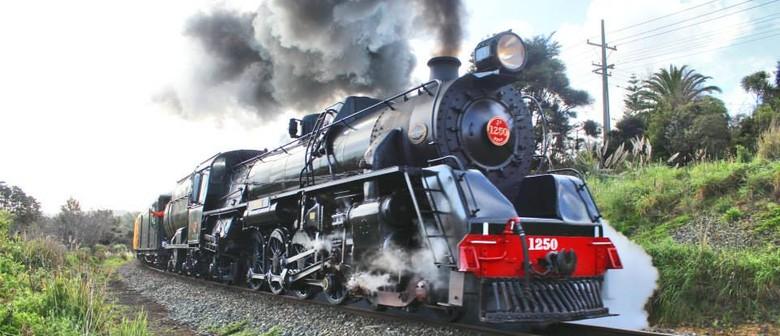 Santa Day at the Railway