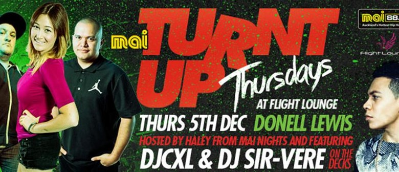 Turnt Up Thursdays with Donell Lewis