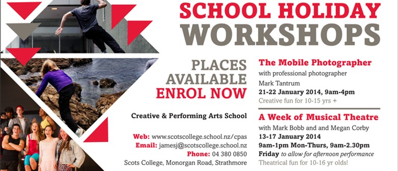 Musical Theatre Holiday Workshop