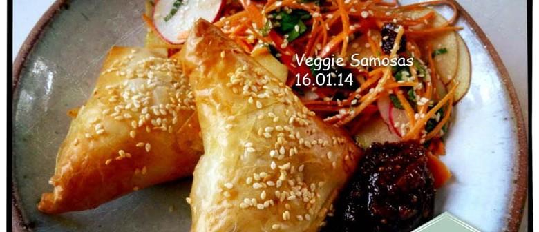 Wellington Foodies Kids - Veggie Samosas Lesson
