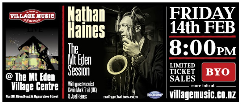 Nathan Haines - The Mt Eden Session