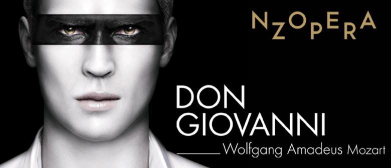NZ Opera Presents Don Giovanni