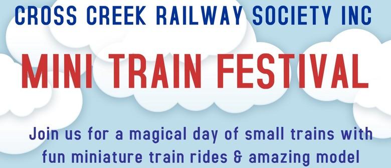 Cross Creek Mini Train Festival
