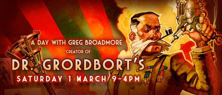 A Day With Greg Broadmore