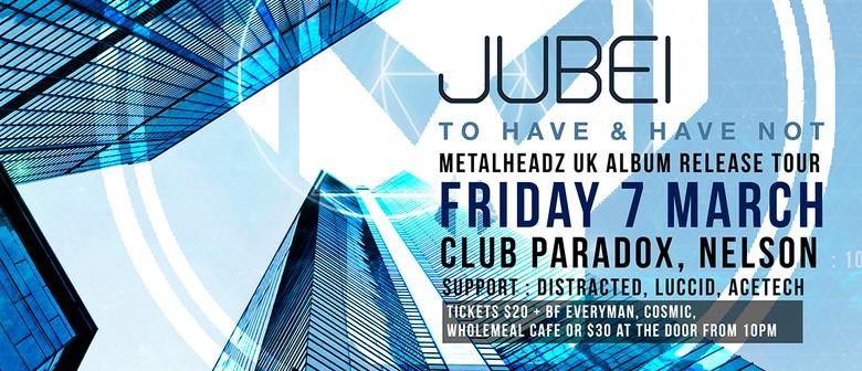 Jubei UK Metalheadz Album Release Tour
