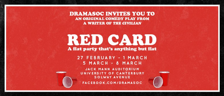 Red Card: An Original Comedy from Dramasoc