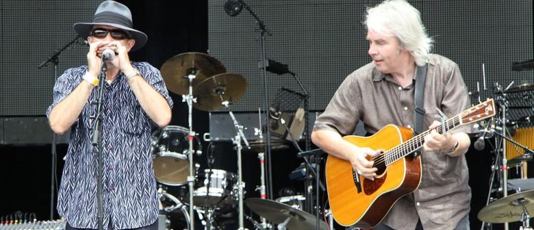 Nick Charles with Mike Garner
